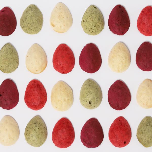 Bruzdukų skanėstai kiaušinukai