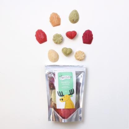 Bruzdukai: sveiki saldainiai vaikams iš liofilizuotų uogų-vaisių