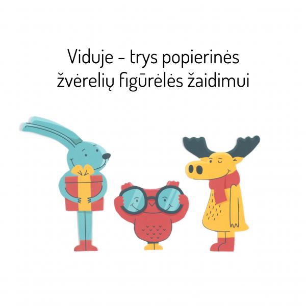 Bruzdukų advento kalendorius - žvėrelių figūrėlės žaidimui